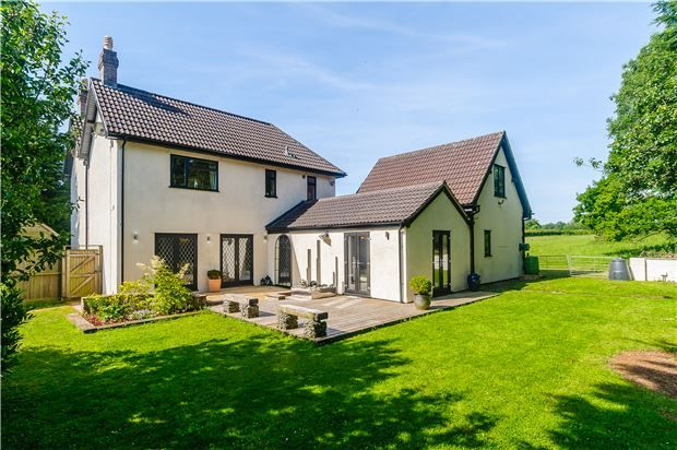 Thumbnail Detached house for sale in Emborough, Radstock, Somerset