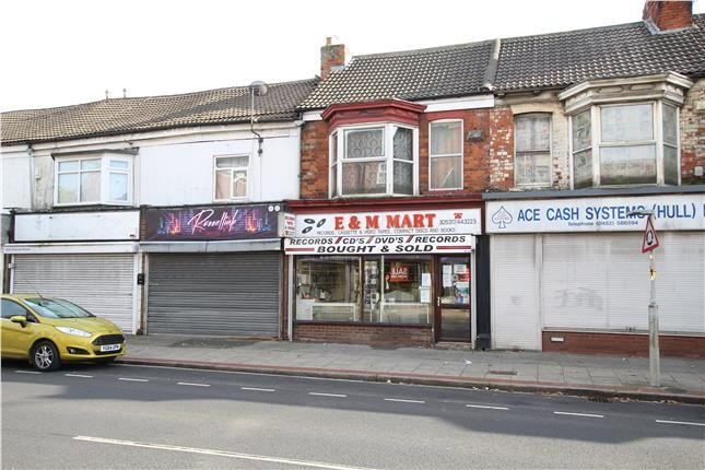 Thumbnail Retail premises for sale in Hessle Road, Hull, East Riding Of Yorkshire