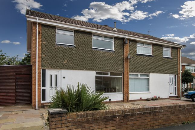 4 bed semi-detached house for sale in Loxley Place, Whiteholme, Thornton-Cleveleys
