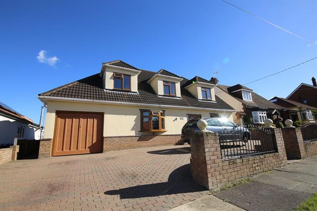 Thumbnail Detached bungalow for sale in Lampits Lane, Corringham, Stanford-Le-Hope