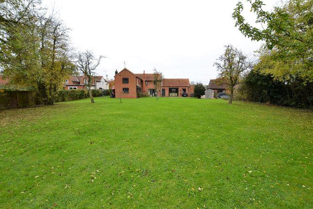 Thumbnail Detached house for sale in New Lane, Mattishall, Dereham, Norfolk.