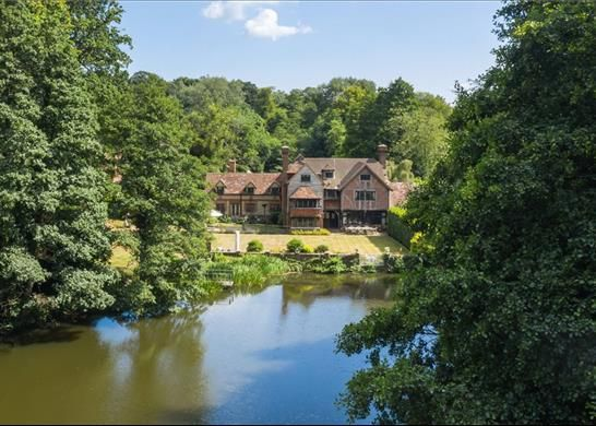 Thumbnail Detached house for sale in Enton, Godalming, Surrey