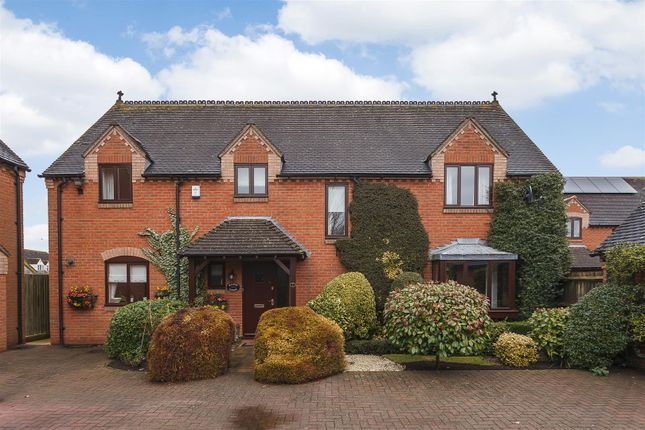 Thumbnail Detached house for sale in Penelope Gardens, Wickhamford, Evesham, Worcestershire