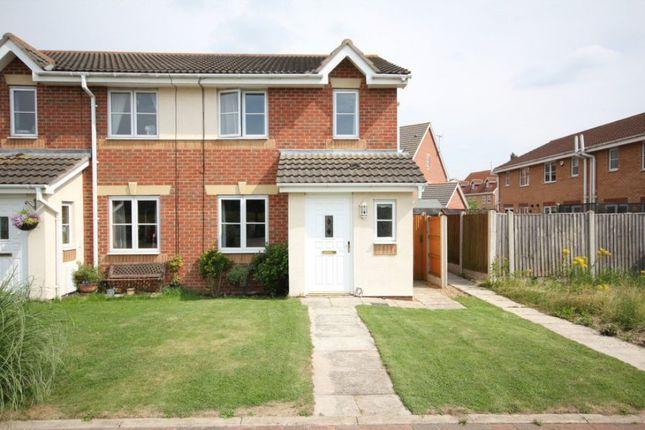 Thumbnail End terrace house to rent in Kilburn End, Oakham