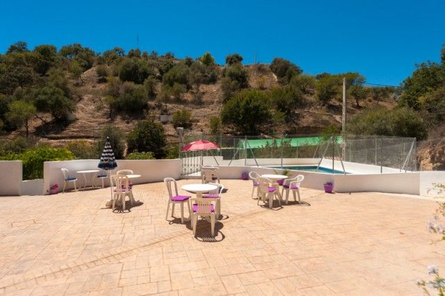 Terrace And Pool of Spain, Málaga, Cártama, Gibralgalia