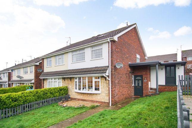Thumbnail Semi-detached house for sale in 60, Glyn Rhosyn, Pentwyn, Cardiff, Cardiff