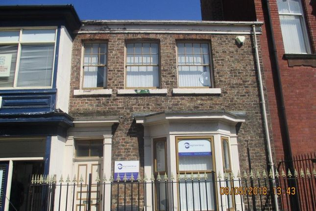 Thumbnail Office for sale in 7 Scarborough Street, Hartlepool