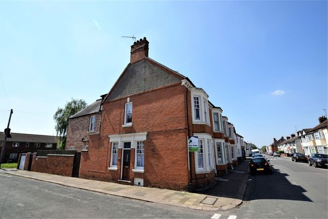 Thumbnail End terrace house for sale in King Edward Road, Northampton