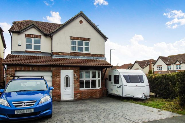 Thumbnail Detached house for sale in The Coppice, Easington Colliery, Peterlee