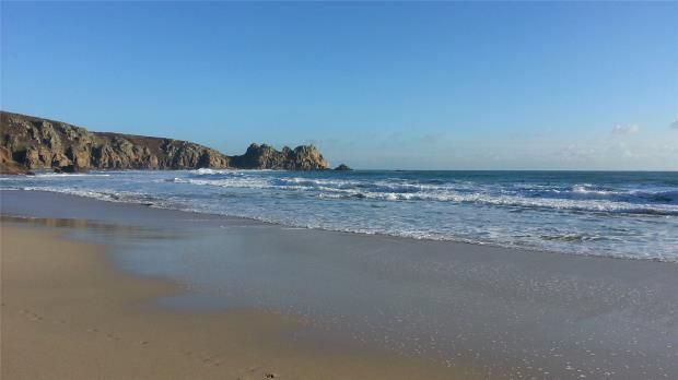 Thumbnail Semi-detached house for sale in Porthcurno, Churchtown, Penzance, Cornwall