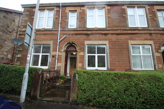 Thumbnail Flat for sale in Lilybank Road, Port Glasgow