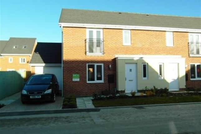 Thumbnail Semi-detached house to rent in Belton Close, Washington