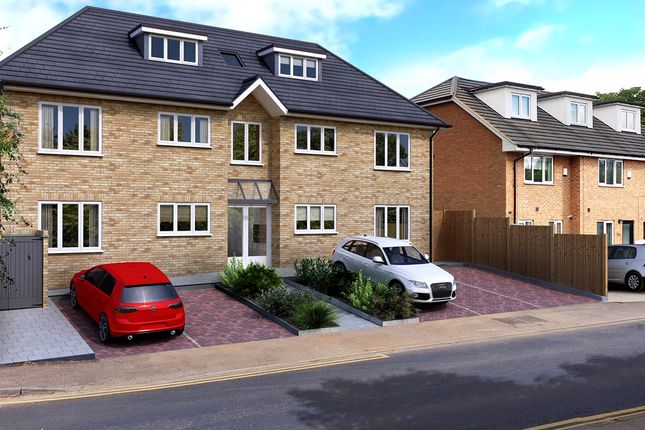Thumbnail Flat for sale in Lemsford Road, Hatfield