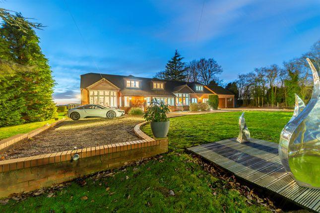 Thumbnail Detached house for sale in Tollerton Lane, Tollerton, Nottingham