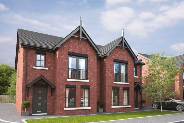 Thumbnail Semi-detached house for sale in Cassies Lane, Tudor Link, Carrickfergus