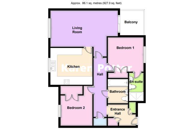2d Floor Plan of Trafalgar Road, Birkdale, Southport PR8