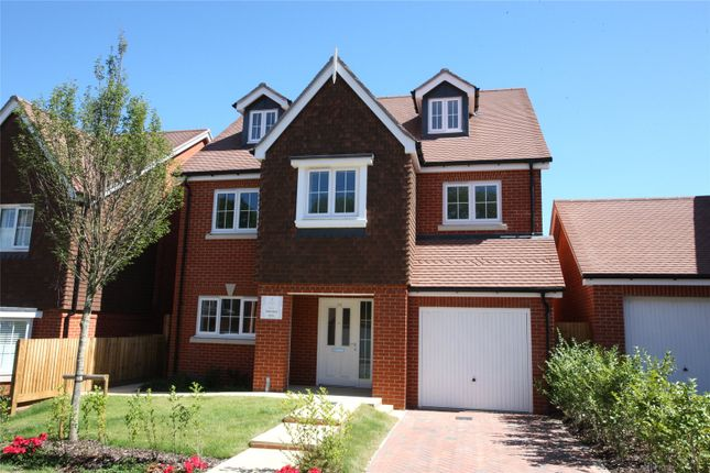 Thumbnail Detached house for sale in The Croft, Foreman Road, Ash Green, Surrey