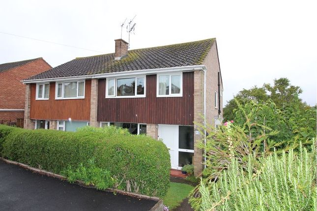 Thumbnail Semi-detached house for sale in Purcell Close, Exeter