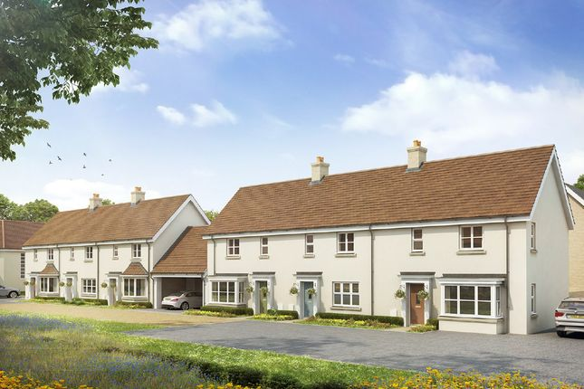 Thumbnail End terrace house for sale in Long Melford, Sudbury, Suffolk