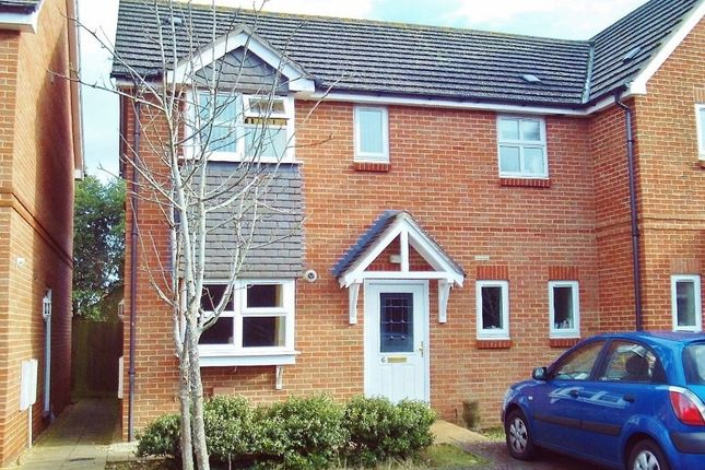Thumbnail Semi-detached house for sale in Daniels Close, Gosport