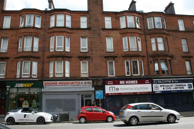 Thumbnail Flat for sale in Victoria Road, Glasgow