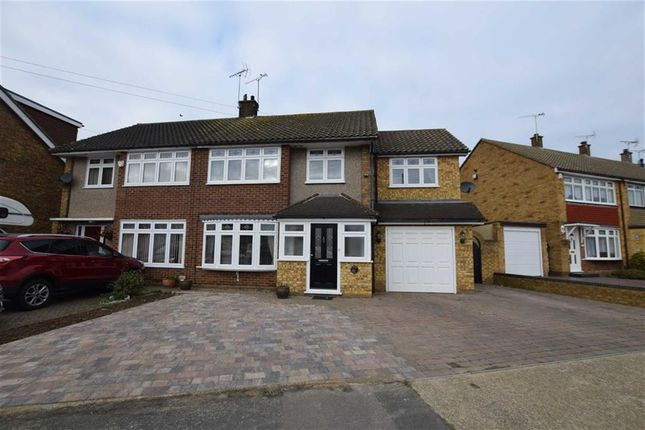 Thumbnail Semi-detached house for sale in Andersons, Corringham, Essex