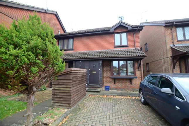 Thumbnail Terraced house for sale in Oak Court, South Street, Farnborough