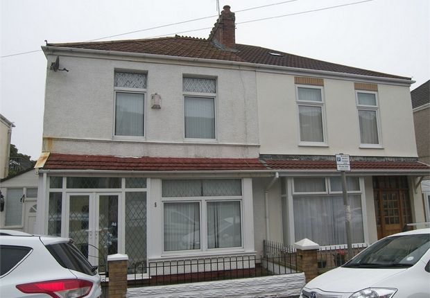 Thumbnail Semi-detached house to rent in Devon Place, Mumbles, Swansea