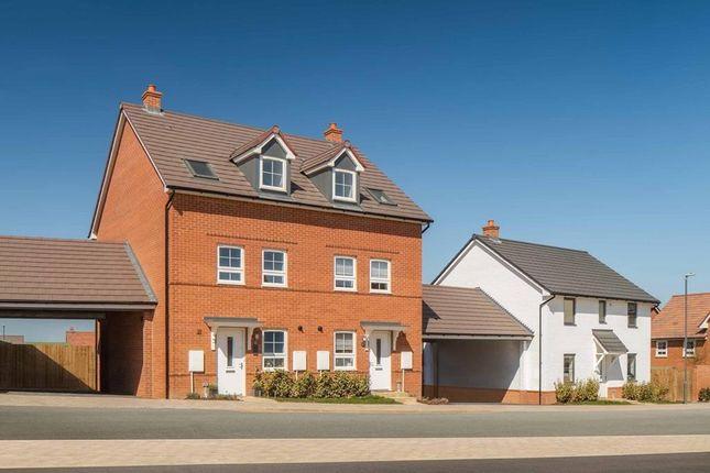 "3 bed terraced house for sale in ""Norbury"" at Tingewick Road, Buckingham MK18"