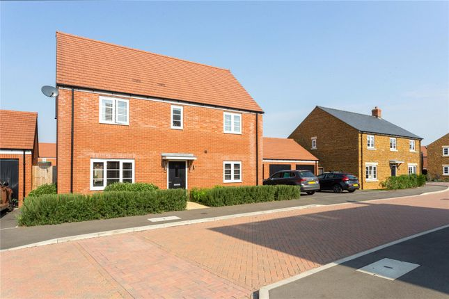 Thumbnail Detached house for sale in Garners Field, Great Bourton, Banbury, Oxfordshire