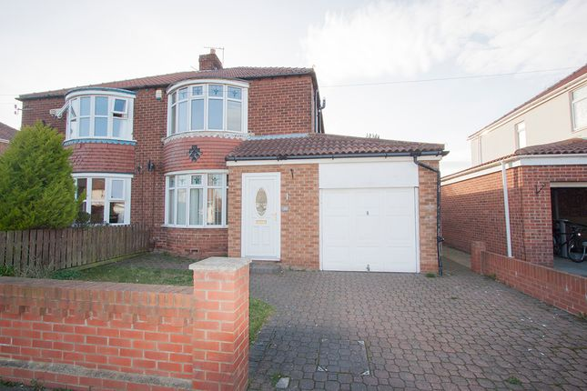Thumbnail Semi-detached house to rent in Ventnor Avenue, Hartlepool