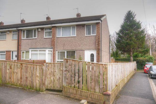 Thumbnail Semi-detached house to rent in Farnham Close, Lemington, Newcastle Upon Tyne