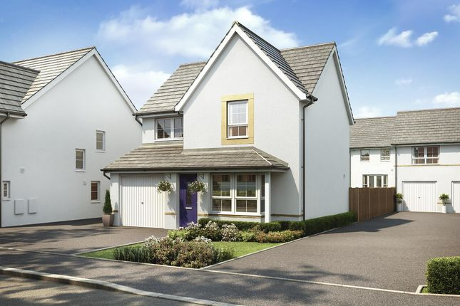 "Thumbnail Detached house for sale in ""Cheadle"" at Kergilliack Road, Falmouth"
