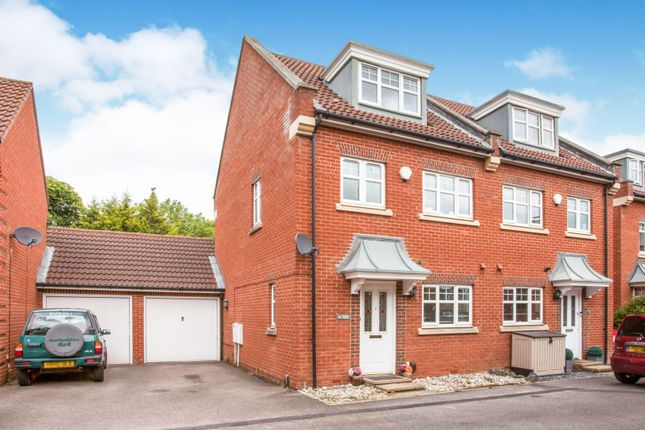 Thumbnail Semi-detached house for sale in Oxford Close, Romford