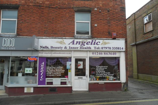 Retail premises for sale in Market Street, Chesterfield