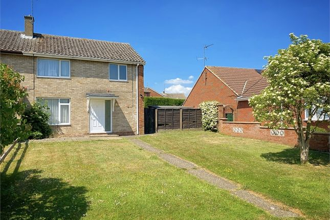Thumbnail Semi-detached house for sale in Mantlefield Road, Corby, Northamptonshire