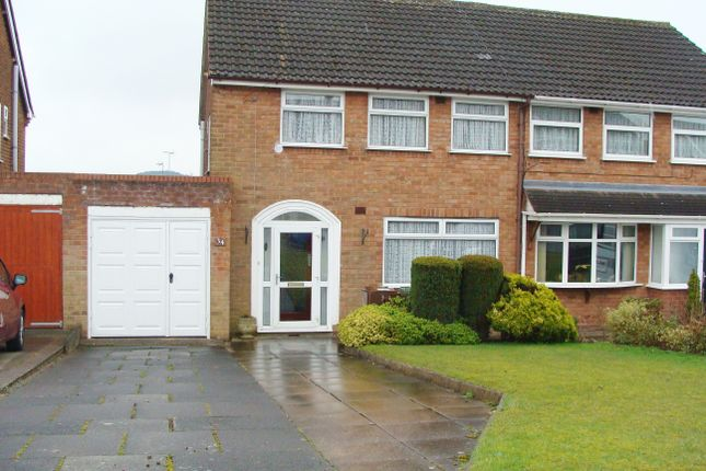 Thumbnail Semi-detached house for sale in Clent Road, Rubery