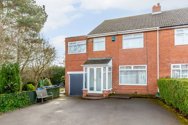 Thumbnail Semi-detached house for sale in Reay Gardens, Newcastle Upon Tyne, Tyne And Wear