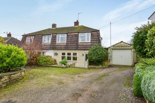 Thumbnail Semi-detached house for sale in Wookey Hole, Wells, Somerset