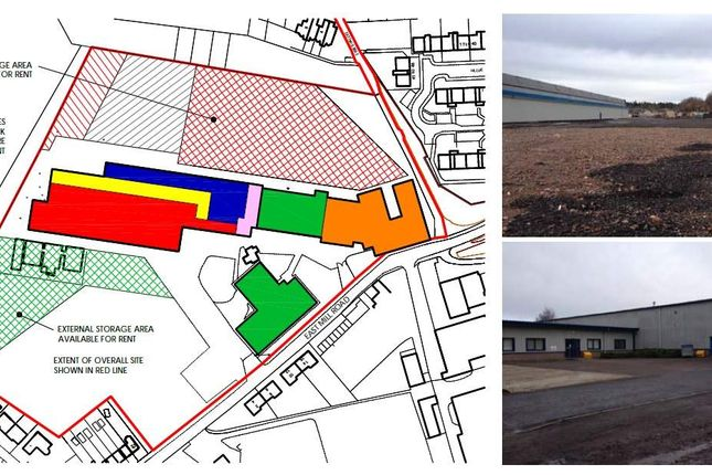 Thumbnail Light industrial to let in Units And Storage, Eastmill Road, Brechin
