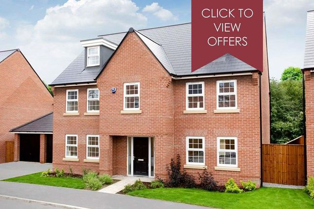 "Thumbnail Detached house for sale in ""Lichfield"" at Woodcock Square, Mickleover, Derby"