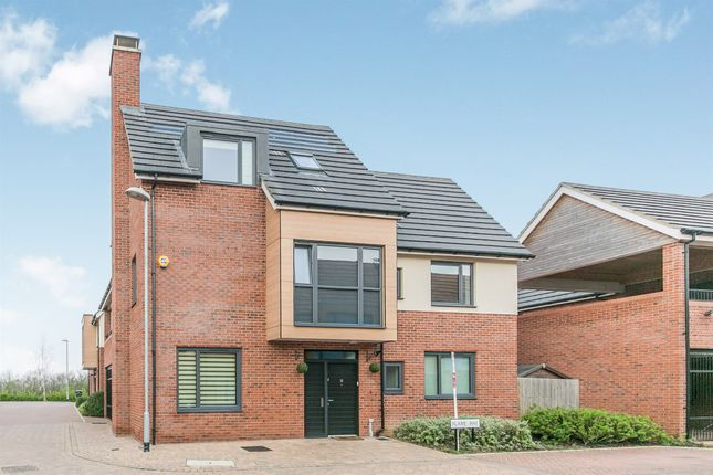 Thumbnail Detached house for sale in Flame Way, Colchester