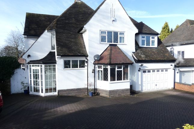 Thumbnail Detached house for sale in Goldieslie Road, Wylde Green, Sutton Coldfield