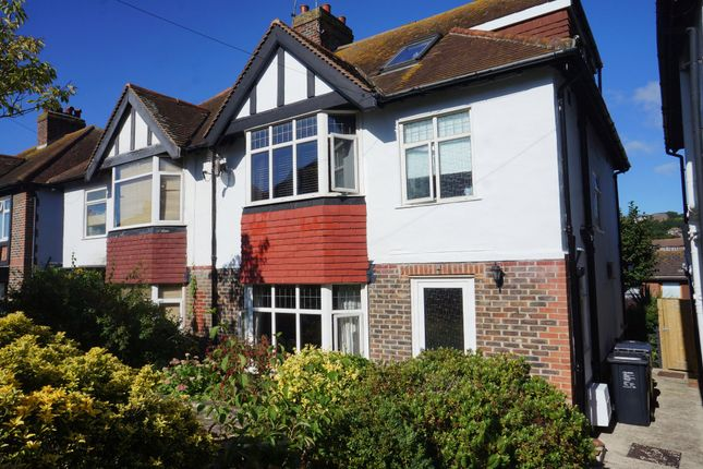 Thumbnail Semi-detached house to rent in Reading Road, Brighton, East Sussex