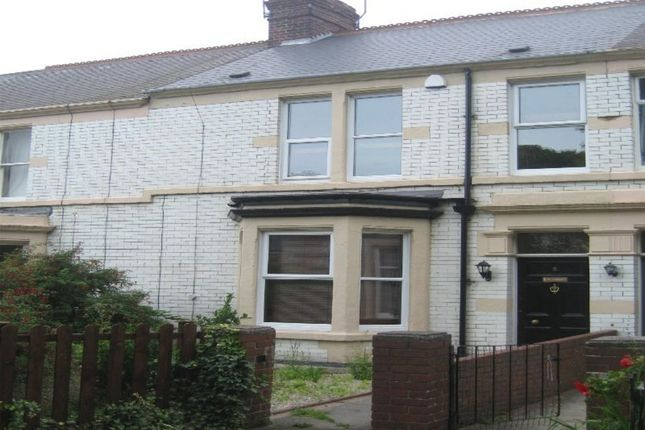 Thumbnail Terraced house to rent in Percy Avenue, Whitley Bay