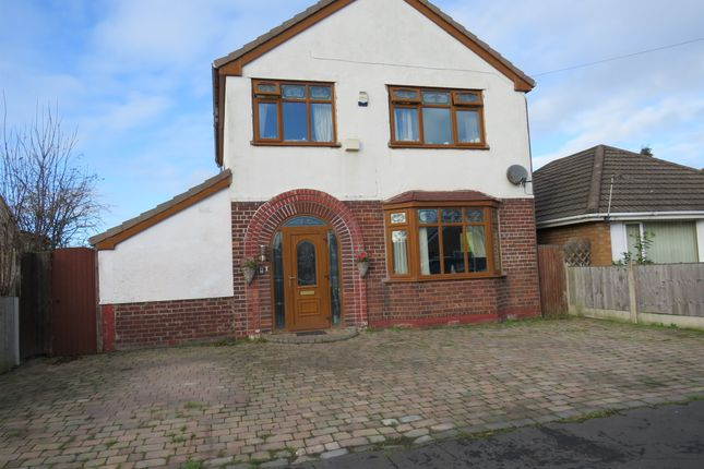 Thumbnail Detached house for sale in Bradman Road, Moreton, Wirral