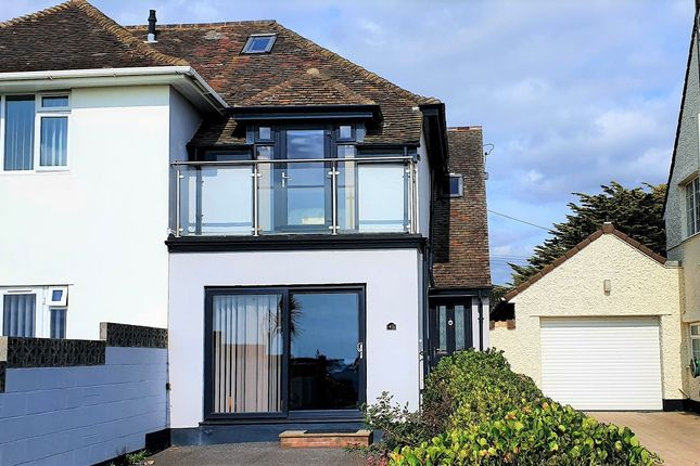 4 bed end terrace house to rent in Marine Drive East, Barton On Sea, New Milton BH25
