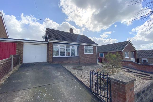 Thumbnail Detached bungalow for sale in The Dales, Bottesford, Scunthorpe