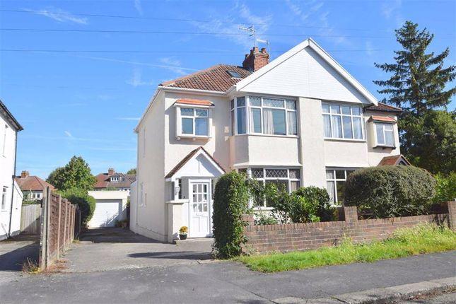 Thumbnail Semi-detached house for sale in Bibury Crescent, Westbury-On-Trym, Bristol