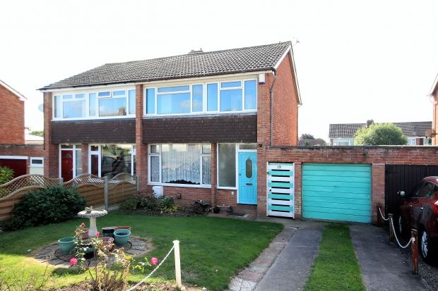 Thumbnail Semi-detached house for sale in Sunnybrow Close, North Petherton, Bridgwater
